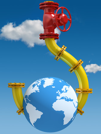 Oil and Gas Dependence  Conceptual illustration