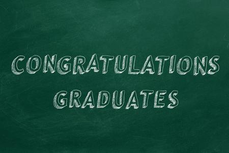 祝贺毕业生