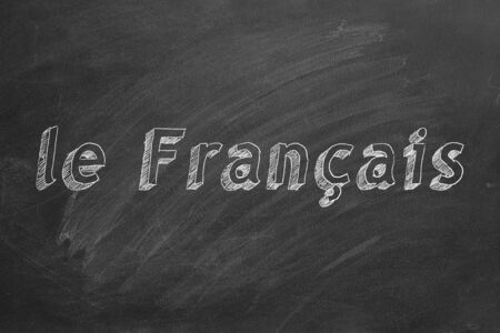 French learning concept