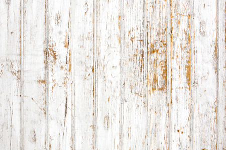 Background of shabby painted wooden plank photo