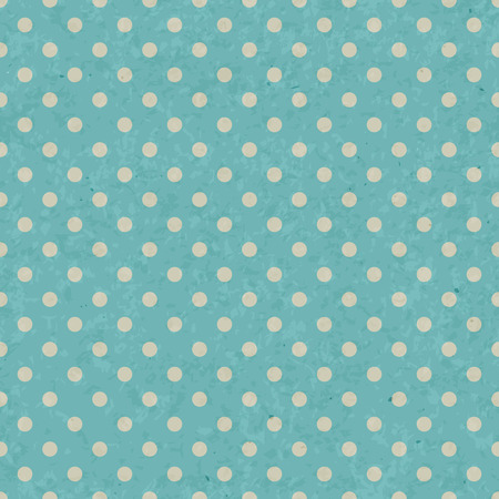 old paper texture: Dot pattern on grunge old paper texture, Seamless polka dot background.
