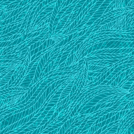 Abstract waves background, vintage hand drawn pattern, wavy background, old paper grunge texture. Vector