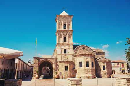 Church of Saint Lazarus, Larnaca, Cyprus. Greek Orthodox Church. Banco de Imagens