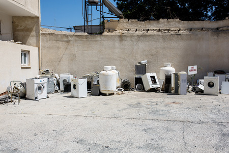 Appliances bump. Washing machines, boilers recycled.