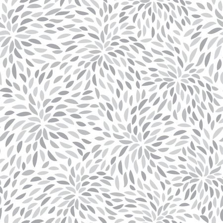 paeony: Vector flower pattern. Seamless floral background. Hand-drawn petals.
