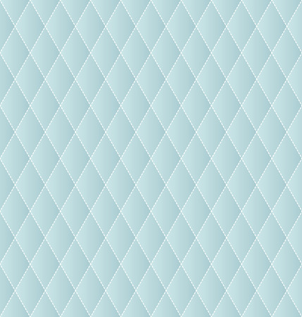 dashed: Rhombus geometric abstract background, seamless vector. Dashed outline. Illustration