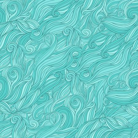 pelo ondulado: Modelo abstracto incons�til a mano, enredo fondo pelo ondulado