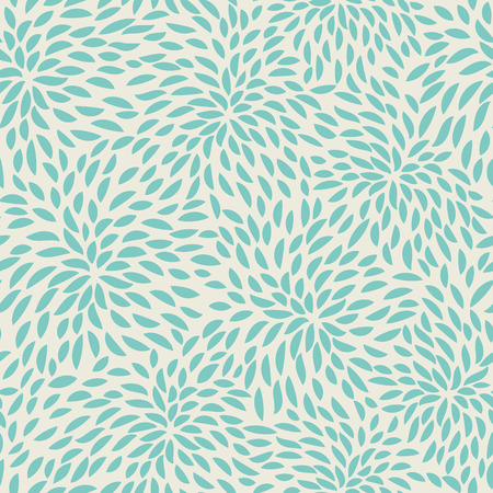 Seamless abstract flowers pattern. Floral background. Illustration