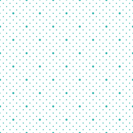 Vector seamless pattern. Modern stylish texture. Repeating geometric dots.