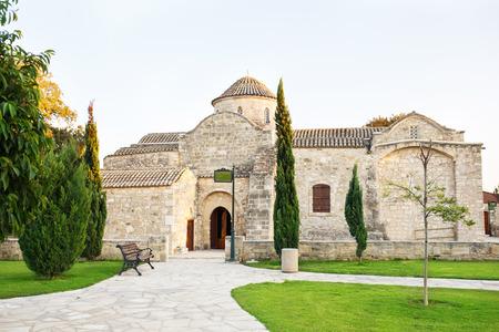 11th century: Church of Panayia Angeloktisti, Cyprus, Kiti. 11th century Byzantine church.