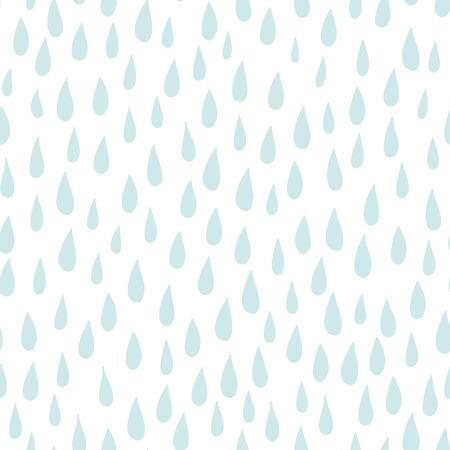 numerous: Rain seamless patterm vackground with numerous drops Illustration