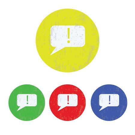 dialog: illustration of modern icon dialog cloud Illustration