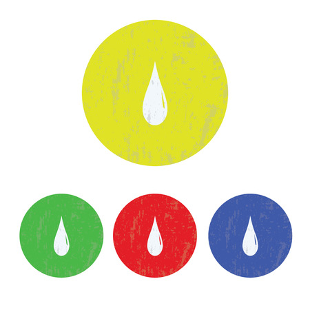 ooze: vector illustration of modern icon watter