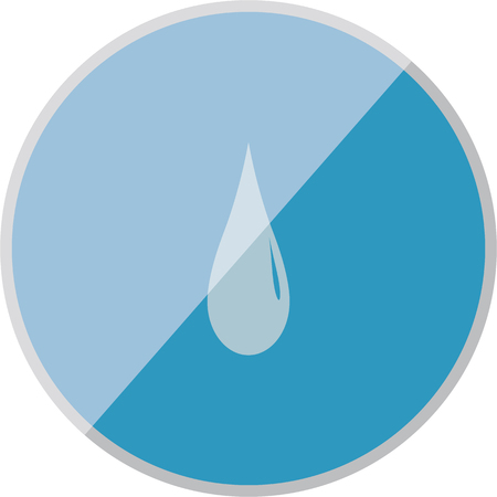 waterworks: vector illustration of modern icon watter