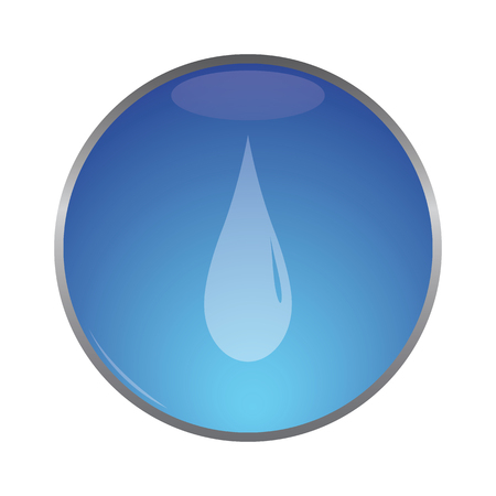 watter: vector illustration of modern icon watter