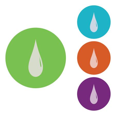vector illustration of modern icon watter