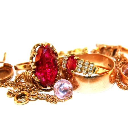 ruby red: jewelry
