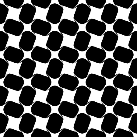 Rhombus seamless pattern,Fashion graphic background design. Modern stylish abstract texture. Monochrome template for prints, textiles, wrapping, wallpaper, website etc. VECTOR illustration 矢量图像