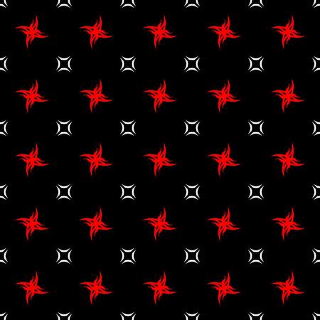 Feu abstract seamless pattern. Mode de conception graphique d'arrière-plan. Moderne texture abstraite élégant. modèle coloré pour les impressions, les textiles, emballage, papier peint, site Web, etc. illustration