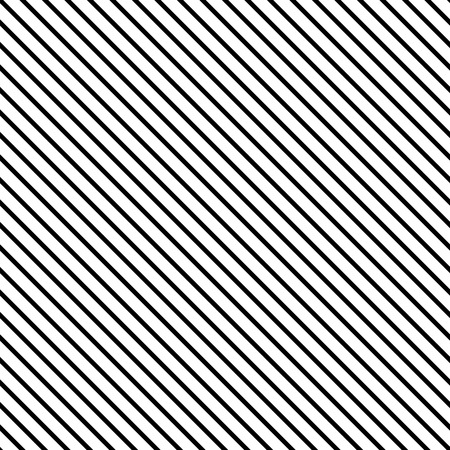 Line diagonal black seamless pattern. Fashion graphic background design. Modern stylish abstract texture. Monochrome template for prints, textiles, wrapping, wallpaper, website. VECTOR illustration