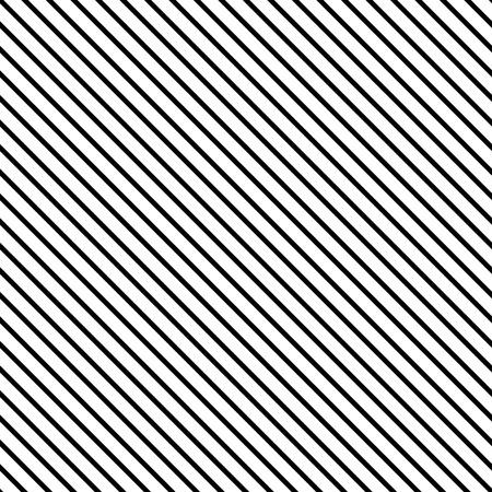Lijn diagonaal zwart naadloos patroon. Mode grafische achtergrondontwerp. Moderne stijlvolle abstracte textuur. Monochrome sjabloon voor afdrukken, textiel, inwikkeling, behang, website. VECTOR illustratie Stock Illustratie