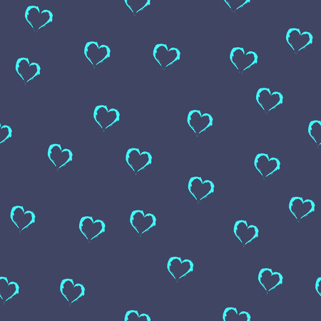 heart seamless pattern: Heart seamless pattern. Fashion graphic background design. Modern stylish abstract texture. Colorful template for prints, textiles, wrapping, wallpaper, website etc. VECTOR illustration