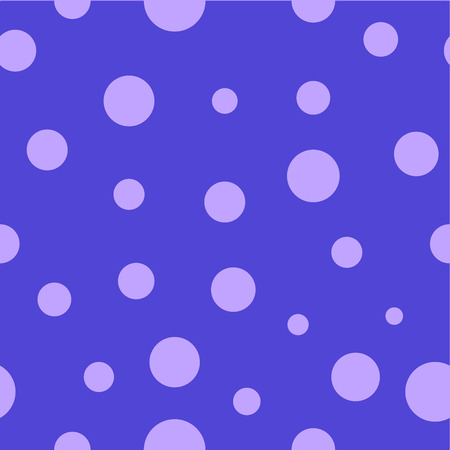 wallpaper dot: Polka dot lilac seamless pattern. Fashion graphic background design. Modern stylish abstract colorful texture. Template for prints, textiles, wrapping, wallpaper, website etc. VECTOR illustration Illustration