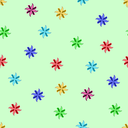 braided: Flower color seamless pattern. Fashion graphic background design. Modern stylish abstract texture. Colorful template for prints, textiles, wrapping, wallpaper, website etc. VECTOR illustration