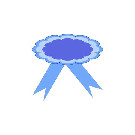 Ribbon Award. Emblem Modern Symbol Of Award. Symbol Reward Winner ...