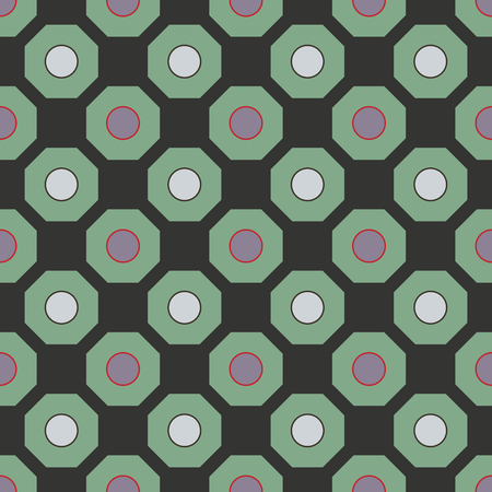 fashion design: Geometric seamless pattern. Fashion graphic background design.