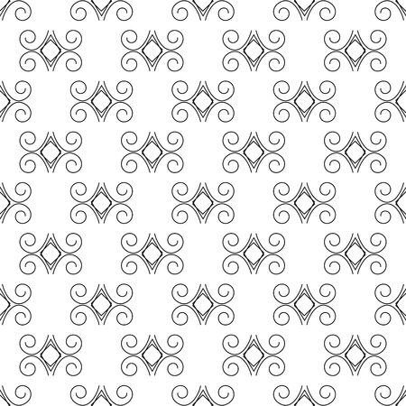 Abstract seamless pattern. Fashion graphic background design.