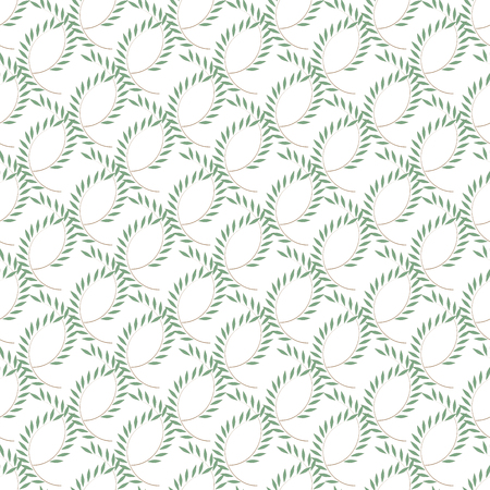Leaf seamless pattern. Fashion graphic background design. Modern stylish abstract texture.