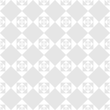 royals: Square gray on white background. Fashion graphic background design. Modern stylish abstract texture. Monochrome template for prints, textiles, wrapping, wallpaper, business, etc. Vector illustration