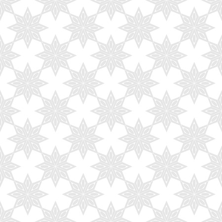 patchwork: Flower geometric on white background. Fashion graphic background design. Modern stylish abstract texture. Monochrome template for prints, textiles, wrapping, wallpaper, website. Vector illustration Illustration