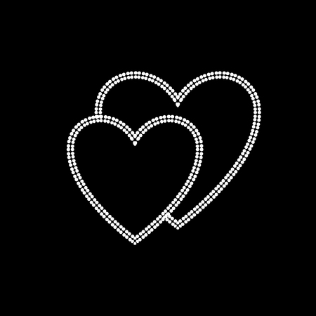 Hearts Symbol Of Togetherness Royalty Free Cliparts Vectors And