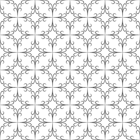 Abstract seamless pattern. Fashion graphic background design. Modern stylish abstract texture. Design monochrome template for prints, textile, wrapping, wallpaper, website. Vector illustration Vektoros illusztráció