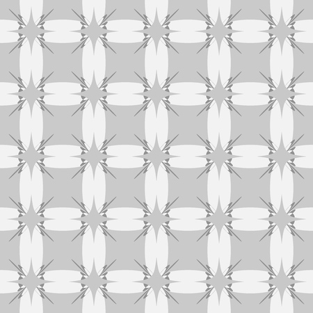 Square seamless pattern. Fashion graphic background design. Modern stylish abstract texture. Monochrome template for prints, textiles, wrapping, wallpaper, website, etc. Vector illustration.