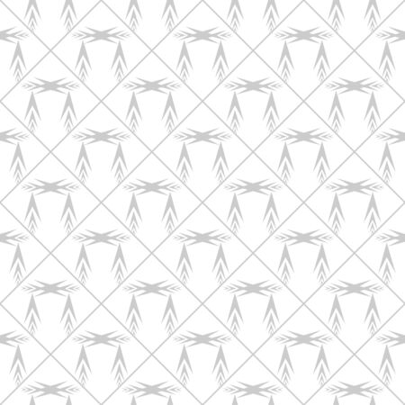 Geometric ornamental with square of arrows seamless pattern. Abstract background design. Modern stylish texture. Monochrome template for prints, textiles, wrapping, wallpaper. Vector illustration Archivio Fotografico - 141466709