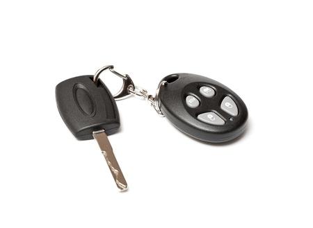 car key on white background Stock Photo - 9397710