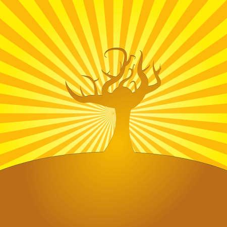 欲望: 欲望の輝き  イラスト・ベクター素材