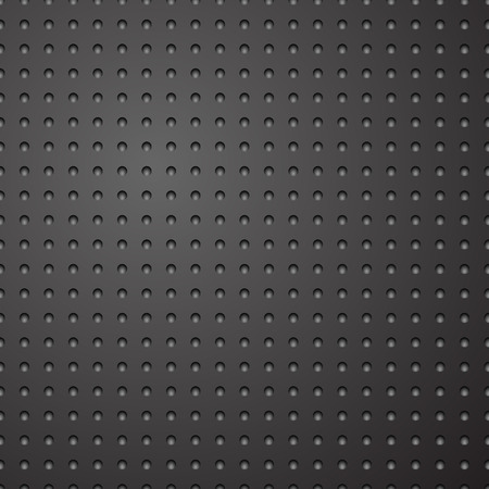 Dark grey metallic pattern background  Vector