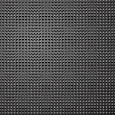 shadowed: Dark grey metallic pattern background with shadowed holes.  Illustration