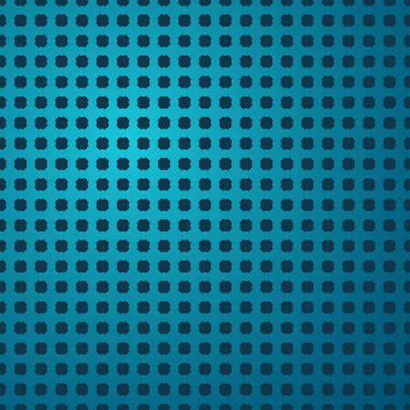 Blue colored pattern background with holes. Vector