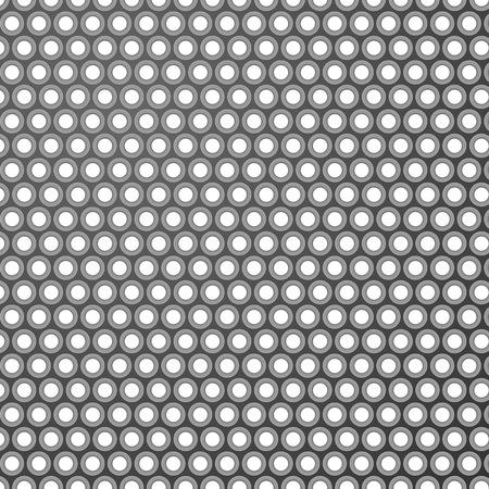Grey pattern background with shadowed holes. Vector illustration. Illusztráció