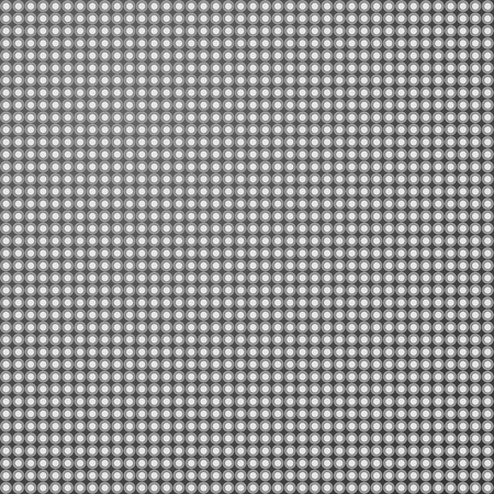 Grey seamless pattern background with small shadowed holes. Vector illustration. Ilustrace