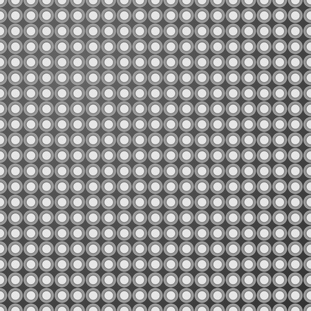 Grey seamless pattern background with shadowed holes. Vector illustration. Ilustrace