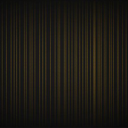 Dark grey background with orange neon strips. Vector illustration.