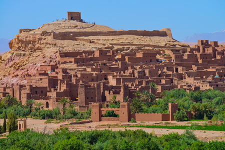 Ait Benhaddou Ksar Kasbah, Morocco,