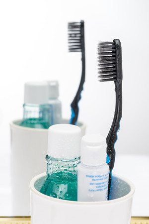 toothbrush toothpaste and mouthwashes oral care