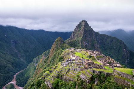 Machu Picchu the Lost Incan City near Aguas calientes Cuzco, Peru